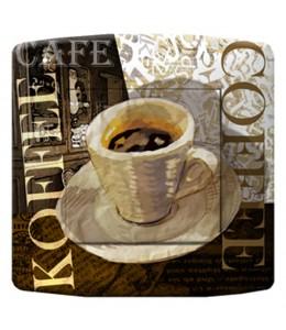 bouton d'interrupteur CAFE