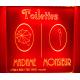 signalétique rétro éclairée TOILETTES