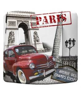 bouton d'interrupteur décoré PARIS