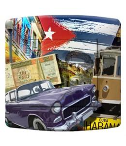 bouton d'interrupteur décoré CUBA